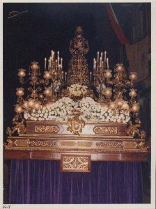 Trono Cristo Medinaceli